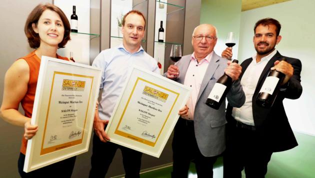 Die Weine von Weingut Iro wurden nicht nur zum Salonsieger 2021, sondern auch zum zweifachen Landessieger gekürt. (Bild: Reinhard Judt)