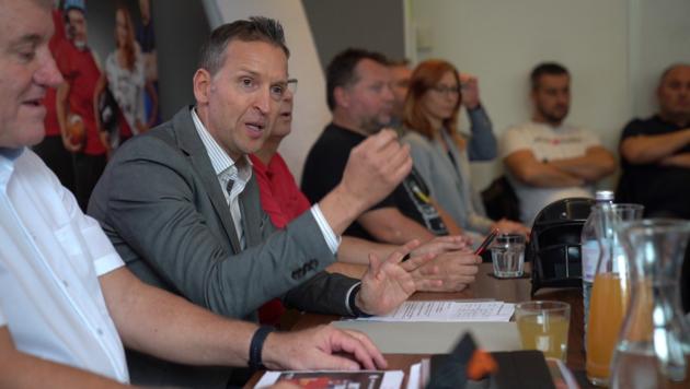 Wolfgang Fritz wird bei den Lohnverhandlungen der Metaller in Wien ebenfalls mit am Tisch sitzen. Er rechnet mit einem zähen Ringen. (Bild: Privat)
