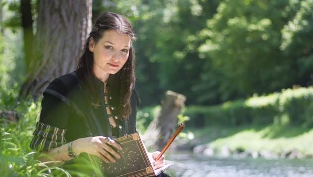 Fantasyautorin Katharina Viktoria Haderer (Bild: Ulrike Steiner)