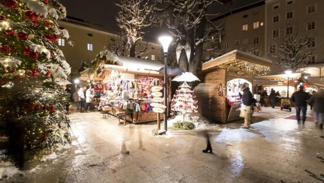 Ebenso abgesagt ist der Adventmarkt am Areal des Sternbräus. Der Salzburger Christkindlmarkt soll allerdings wie geplant eröffnen. (Bild: Sternadvent Salzburg)