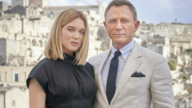 Bond-Frau Lea Seydoux und 007 Daniel Craig (Bild: UNIVERSAL PICTURES INTERNATIONAL AUSTRIA GMBH)