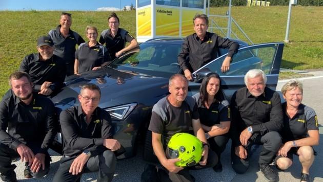 Das Team des ÖAMTC-Fahrtechnik-Zentrums in St. Veit freut sich auf noch viele weitere Kurse auf dem 14 Hektar großen Ausbildungsareal. (Bild: ÖAMTC)