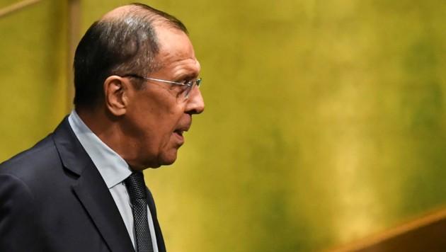 Der Ton zwischen Russland und den USA bleibt rau. (Bild: AFP/TIMOTHY A. CLARY)