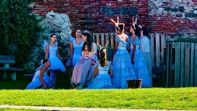 Kinder und Jugendliche aus dem Südburgenland sind beim Musical dabei. (Bild: Büro LTPin)