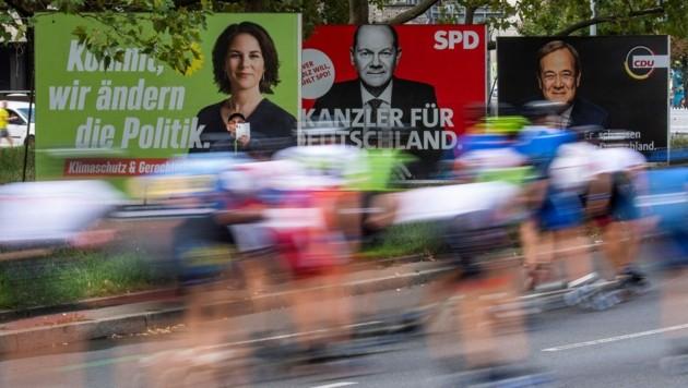 Die Grünen sind in Berlin erstmals stärkste Partei. (Bild: AFP/John MACDOUGALL)