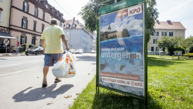 Eine kommunistische Partei gewinnt Kommunalwahlen in der zweitgrößten Stadt Österreichs. Das schlug auch international Wellen. (Bild: APA/ERWIN SCHERIAU)