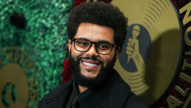 Sänger The Weeknd (Abel Makkonen Tesfaye) soll bei Angelina Jolie gelandet sein. (Bild: Avalon / Action Press / picturedesk.com)