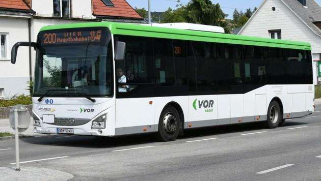 Fährt er, oder fährt er nicht? Die Gänserndorfer Grünen kritisieren fehlende Busverbindungen. (Bild: Huber Patrick)