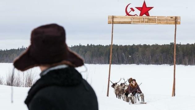 """Szene aus dem russischen Spielfilm """"Engel der Revolution"""" (2014) von Aleksey Fedorchenko (Bild: IFFI)"""
