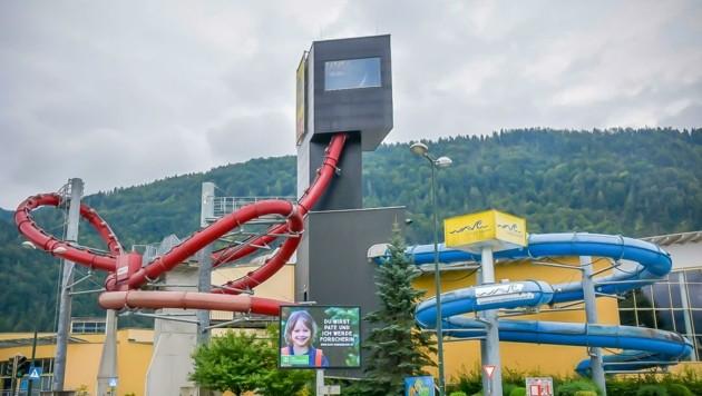 """Die Doppellooping-Rutsche """"L2"""" war weltweit die erste ihrer Art. Mit 40.000 Euro Rufpreis steht sie zur Auktion. (Bild: aurena.at)"""
