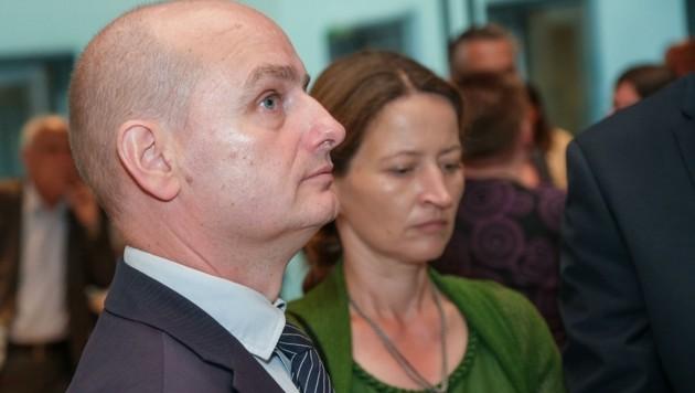 Enttäuscht: Markus Hein und Ehefrau (Bild: Einöder Horst)