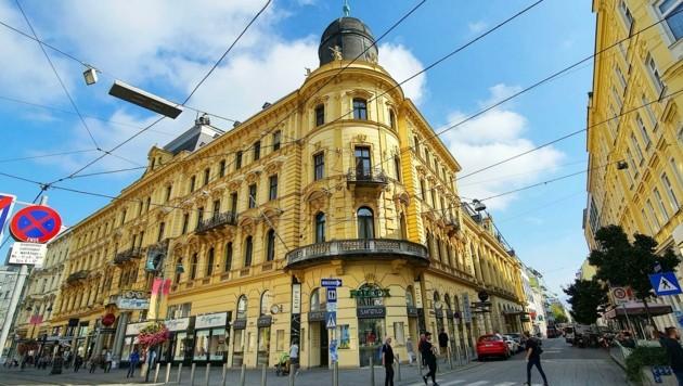 Das Palais Kaufmännischer Verein in Linz (Bild: Einöder Horst)
