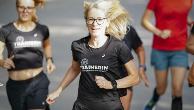 Frauenlauf-Veranstalterin Ilse Dippmann muss am Sonntag im Prater 2 G umsetzen. (Bild: DIENER / Eva Manhart)