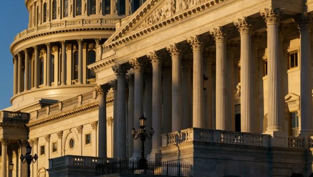 Der US-Senat in Washington (Bild: The Associated Press)