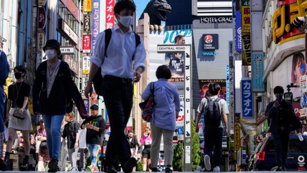 Die Zahl der Neuinfektionen sowie der Patienten mit schweren Symptomen hat in Japan dramatisch abgenommen. (Bild: The Associated Press)