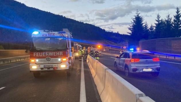 Der Unfall ereignete sich gegen 5 Uhr. (Bild: FF Gmünd in Kärnten)