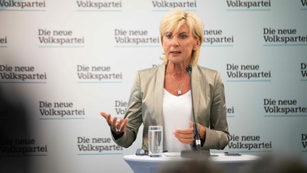 Gabriela Schwarz ist stellvertretende Generalsekretärin der Volkspartei. (Bild: ÖVP/Pargan)