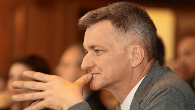 Manfred Eber (KPÖ Graz) (Bild: Juergen Radspieler)