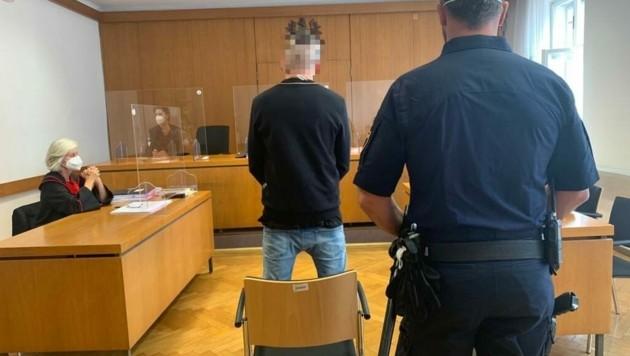 """""""Das war sicher nicht gefährlich"""", meint der Angeklagte. (Bild: Kerstin Wassermann)"""