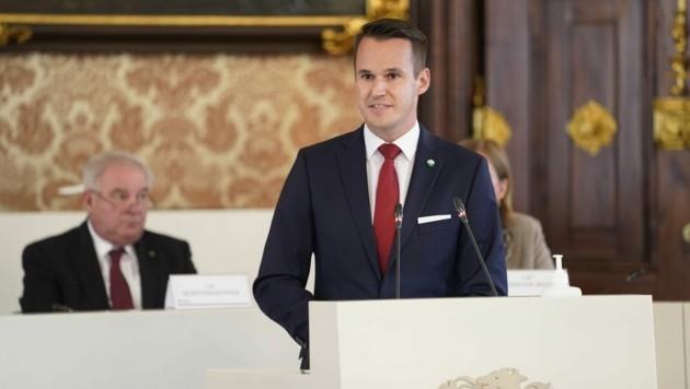 Stefan Hermann (FPÖ) (Bild: LT Stmk/Fischer)
