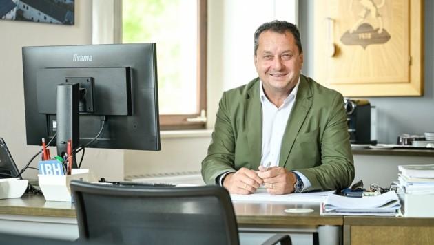 In Perg ist Anton Froschauer seit 2007 Bürgermeister, nun muss er erstmals in die Stichwahl (Bild: Alexander Schwarzl)