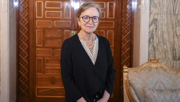 Najla Bouden (Bild: AFP)
