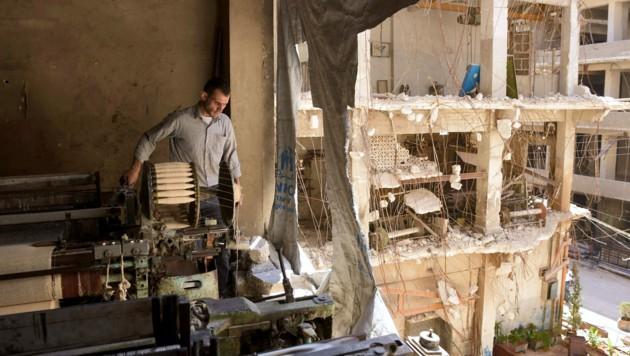 Nur wenige Menschen im Land haben Arbeit. (Bild: AFP)