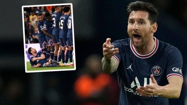 Lionel Messi (Bild: AP, krone.at-grafik)