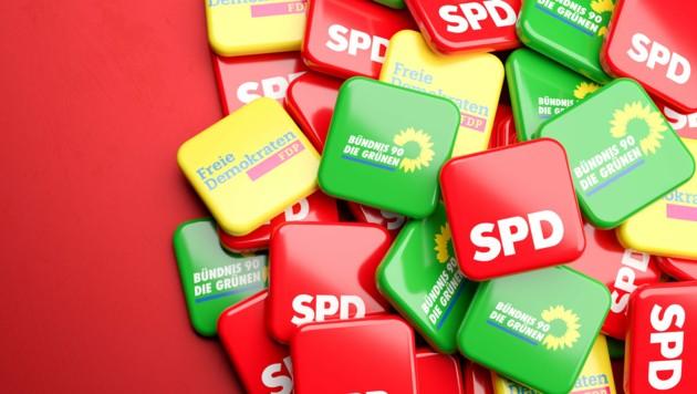 Mit der CDU reden Grüne und FDP auch noch, die Mehrheit der Deutschen will aber eine Ampel-Koalition. (Bild: Andreas Prott - stock.adobe.com)
