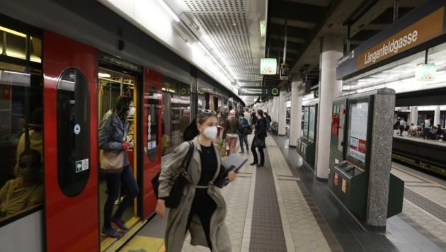 """""""Krone""""-Leser fühlen sich in manchen U6-Stationen nicht sicher. (Bild: Jöchl Martin)"""
