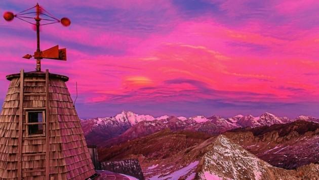 Die Vulkanasche von La Palma wurde sogar am Sonnblick gemessen. (Bild: © bergratz.at)