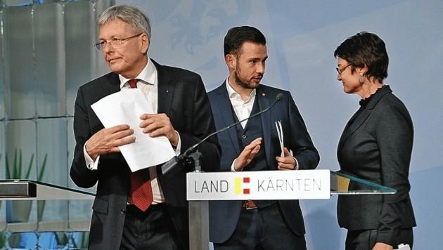 Kaiser und Schuschnig: Keine Gemeinsamkeit im Kampf gegen GTI-Dumpfbacken. (Bild: Rojsek-Wiedergut Uta)