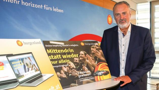 """Im Burgenland haben sich seit Start der """"Impf-Lotterie"""" 7600 zusätzliche Menschen ihren ersten Stich geholt. (Bild: Bgld. LMS)"""