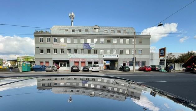 In diesem Haus in der Hamerlingstraße 27 wird das Primärversorgungszentrum zu finden sein (Bild: Wenzel Markus)