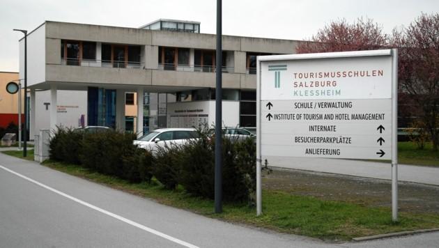 Die Tourismusschulen in Salzburg-Kleßheim (Bild: ANDREAS TROESTER)