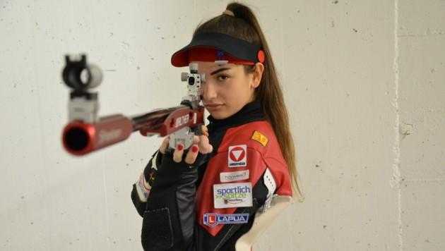 Sheileen Waibel ist aktuell in der peruanischen Haupstadt Lima - allerdings vorerst unbewaffnet. (Bild: Privat)