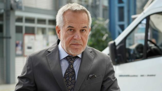 Seit September Chef des Steyr-Automotive-Werks: Sigi Wolf (Bild: Markus Wenzel)