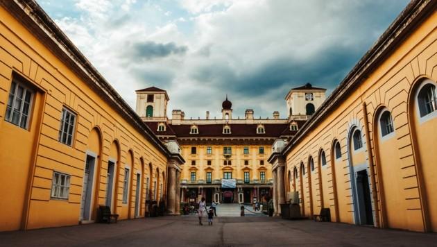 Die Stallungen von Schloss Esterházy sind Teil einer neuen Themenführung im November. (Bild: Josef Siffert)