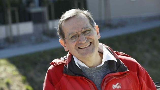 Hannes Augustin vom Salzburger Naturschutzbund (Bild: Tschepp Markus)