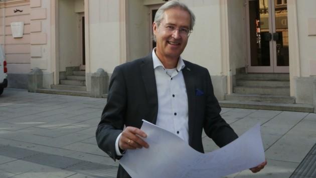 Baudirektor Manfred Korzil. (Bild: Horvath Helmut)