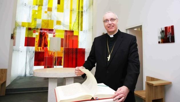 Bischof Zsifkovics erholt sich noch von seiner Corona-Infektion. (Bild: Judt Reinhard)