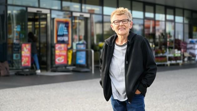 Pensionierte Verkäuferin Hermi Ö. (61) (Bild: Alexander Schwarzl)