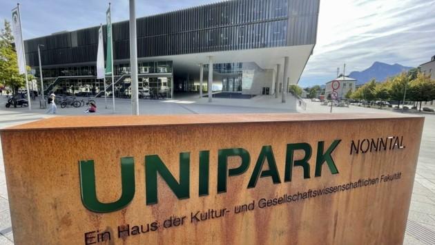 Am Montag öffnet der Unipark Salzburg wieder seine Türen und begrüßt die Studierenden mit 3-G-Verordnung. (Bild: Tschepp Markus)