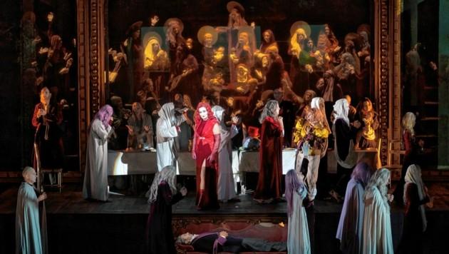 """""""Die Macht des Schicksals"""" an der Grazer Oper (Bild: Werner Kmetitsch)"""