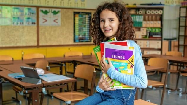 Das Klassenzimmer bringt Farbe in das Leben der Schüler. (Bild: Brenek Malena)