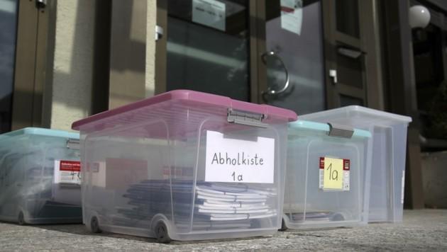Die Volksschule Grödig bleibt bis voraussichtlich Freitag coronabedingt geschlossen (Bild: Tröster Andreas)