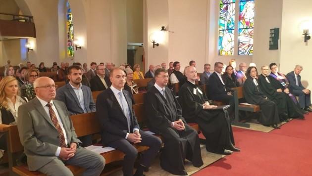 Der Gottesdienst fand in der evangelischen Kirche statt. (Bild: Diakonie)