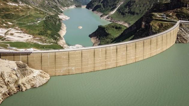 In Kaprun findet sich eines der größten Wasserkraftwerke (Bild: EXPA/ JFK)