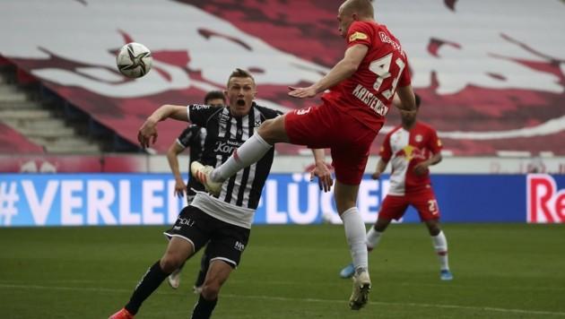 Thomas Goiginger (li.) verpasste diesmal Duell mit Kristensen und den Bullen. (Bild: Tröster Andreas)