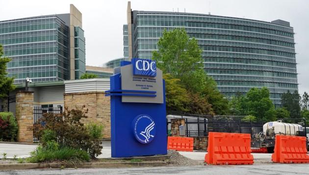 Das Hauptquartier der US-Seuchenbehörde CDC in Atlanta (Bild: APA/AFP/TAMI CHAPPELL)
